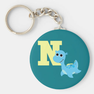 N is for Nessie Keychain