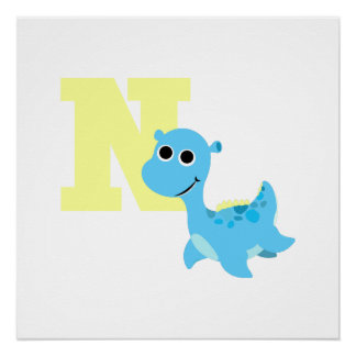 N is for Nessie Poster