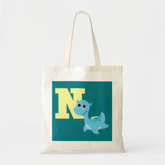 N is for Nessie Tote Bag