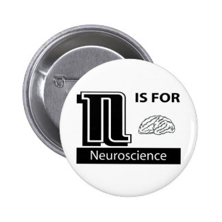 N Is For Neuroscience Pinback Button