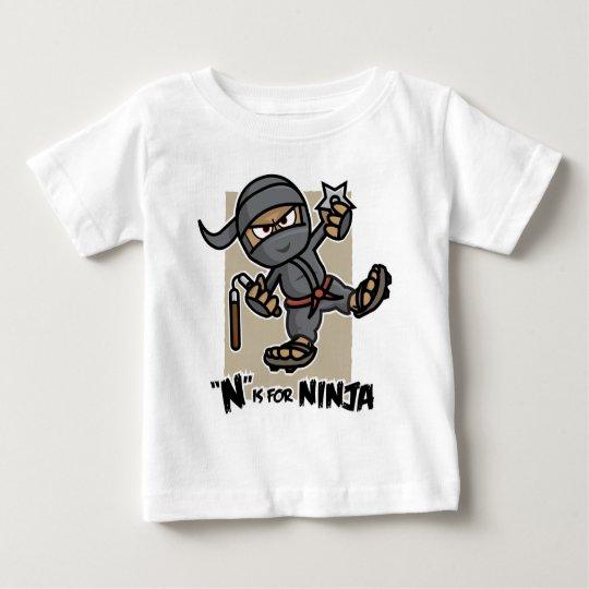 """""""N"""" is for Ninja Infant T-Shirt"""