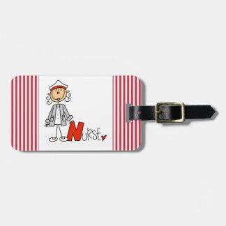 N is for Nurse Bag Tag