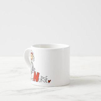 N is for Nurse Espresso Cup