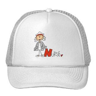 N is for Nurse Trucker Hat