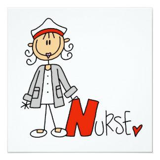 N is for Nurse Invitation