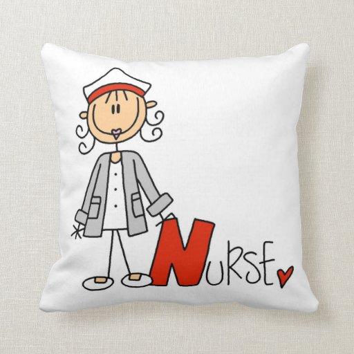N is for Nurse Pillows