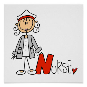 N Is For Nurse Poster