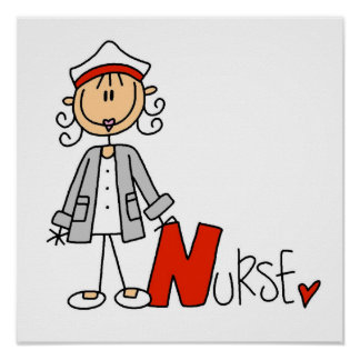 N is for Nurse Posters