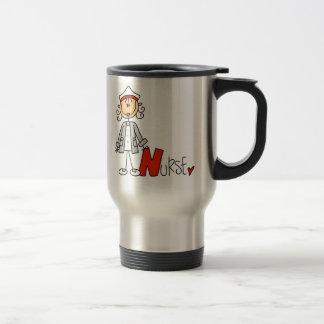 N is for Nurse Travel Mug