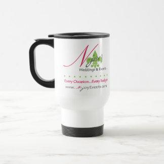 N-joY! St. Louis White with Black Travel Mug