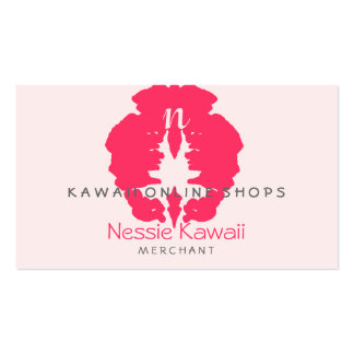 N Kawaii Blot Shops Double-Sided Standard Business Cards (Pack Of 100)