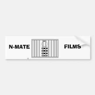 N-MATE FILMS bumper sticker
