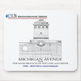 N Michigan Ave Bridgehouse, Chicago Mouse Pad