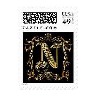 N Monogram Classic Best viewed large see notes Postage