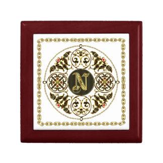 N Monogram Premium Best viewed large. see notes Jewelry Box