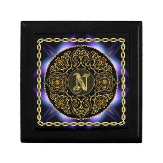 N Monogram Premium Best viewed large. see notes Keepsake Box