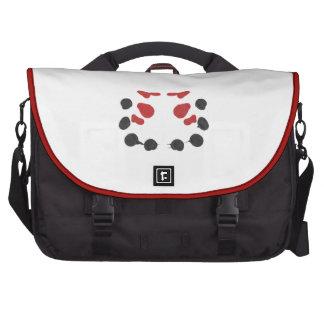 N negra Rorschach rojo 4-2-14 Bolsa De Ordenador