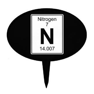N - Nitrogen Cake Topper