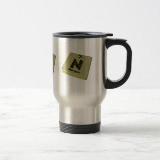 N Nitrogen 15 Oz Stainless Steel Travel Mug