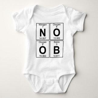 N-O-O-B (noob) - Full Baby Bodysuit