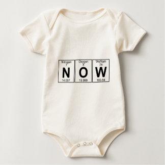 N-O-W (now) - Full Baby Bodysuit