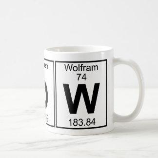 N-O-W (now) - Full Coffee Mug