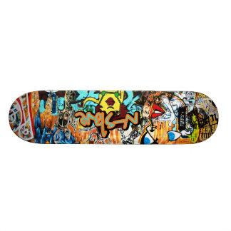 n-s1ave Street Graffiti Deck