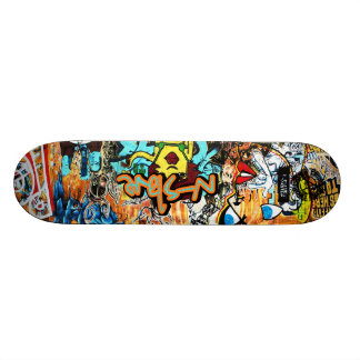 n-s1ave Street Graffiti Deck Custom Skate Board