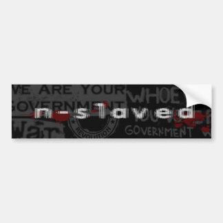 n-s1aved revolution sticker car bumper sticker