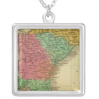 N & S Carolina 3 Custom Necklace