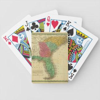 N. & S. Carolina. Bicycle Playing Cards
