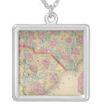 N & S Carolina Map by Mitchell Necklaces