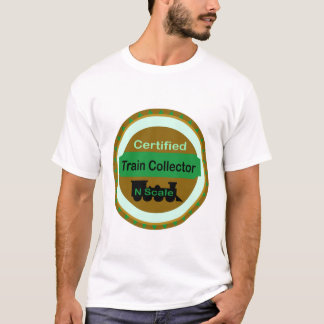 N Scale Train Collector T-Shirt