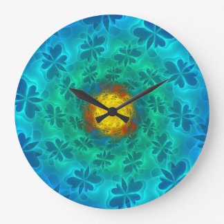 N-Space Lepidoptera Large Clock