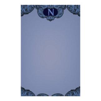 N - The Falck Alphabet (Blue) Stationery