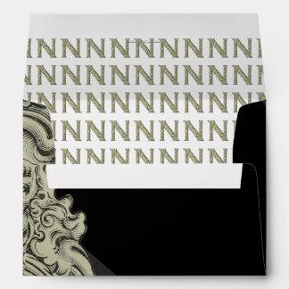 N - The Falck Alphabet (Golden) Envelope
