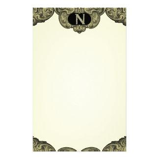 N - The Falck Alphabet (Golden) Stationery