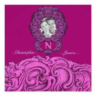 N - The Falck Alphabet (Pink) Card