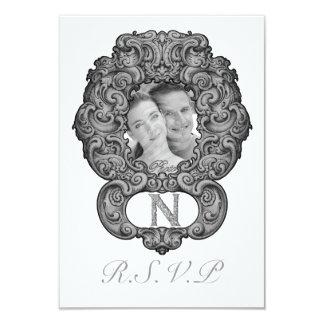 N  - The Falck Alphabet (Silvery) Card