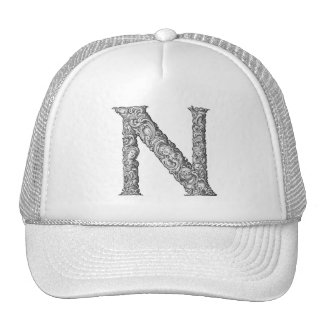 N - The Falck Alphabet (Silvery) Trucker Hat