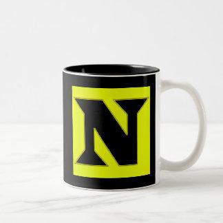 N Two-Tone COFFEE MUG