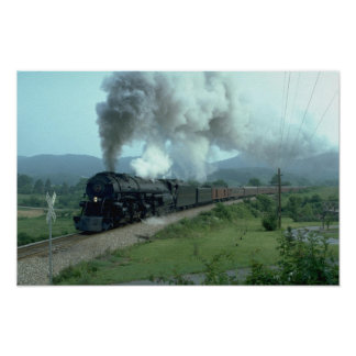 N&W 2-6-6-4 Articulated Poster