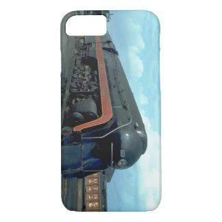 N&W 4-8-4 #611. (tren; cielo; nubes; pista;) Funda iPhone 7