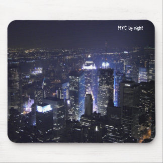 N.Y.C. by night Mouse Mats