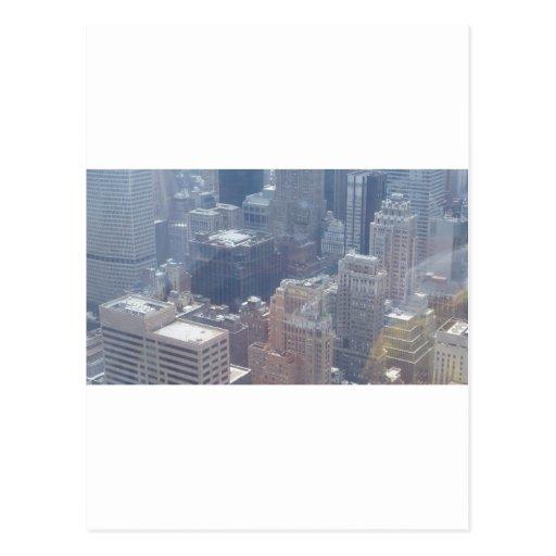 N.Y.C. Edificios altos (kkincade12) Tarjetas Postales