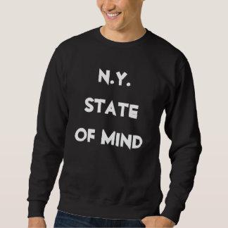 N.Y. Camiseta del estado de ánimo