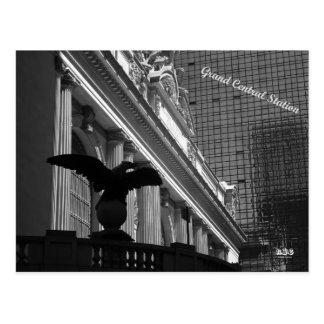 N.Y.E Grand Central Station Postcard