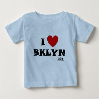 N.Y.E I Heart Brooklyn Baby Baby T-Shirt