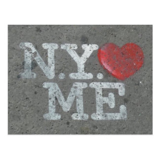 N.Y.  loves ME Postcard