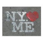 N.Y.  me ama Postal